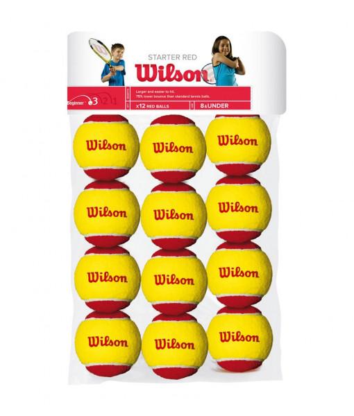 Wilson starter red 12 pack