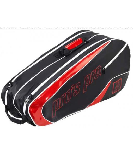 Pros pro 8 pack bag crno crvena
