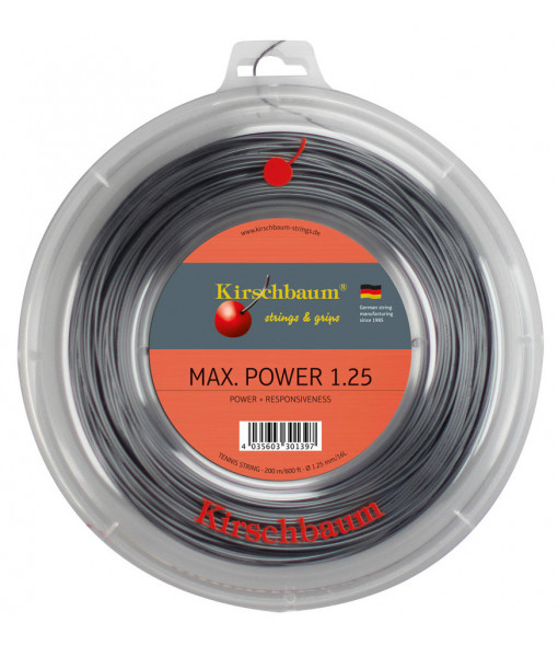 Max power 1.25mm